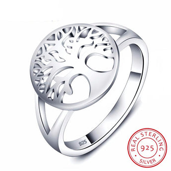Tree of Life Ring - 925 Sterling Silver