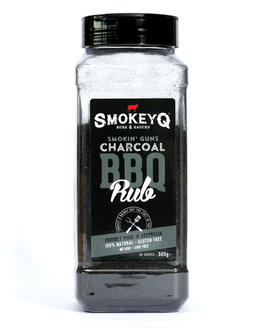 Smokin Guns Charcoal Rub Shaker - 500g