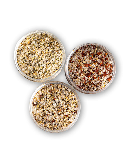 Salt Blend Trio Pack - SPG, Chilli & Zesty