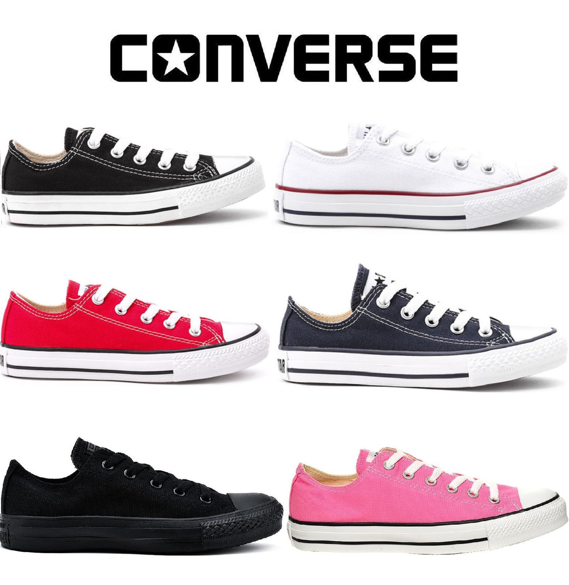 19b38db37e8 Converse Classic Chuck Taylor Low Trainer All Star OX NEW On Sale Free  Delivery UK - Hot Pickz