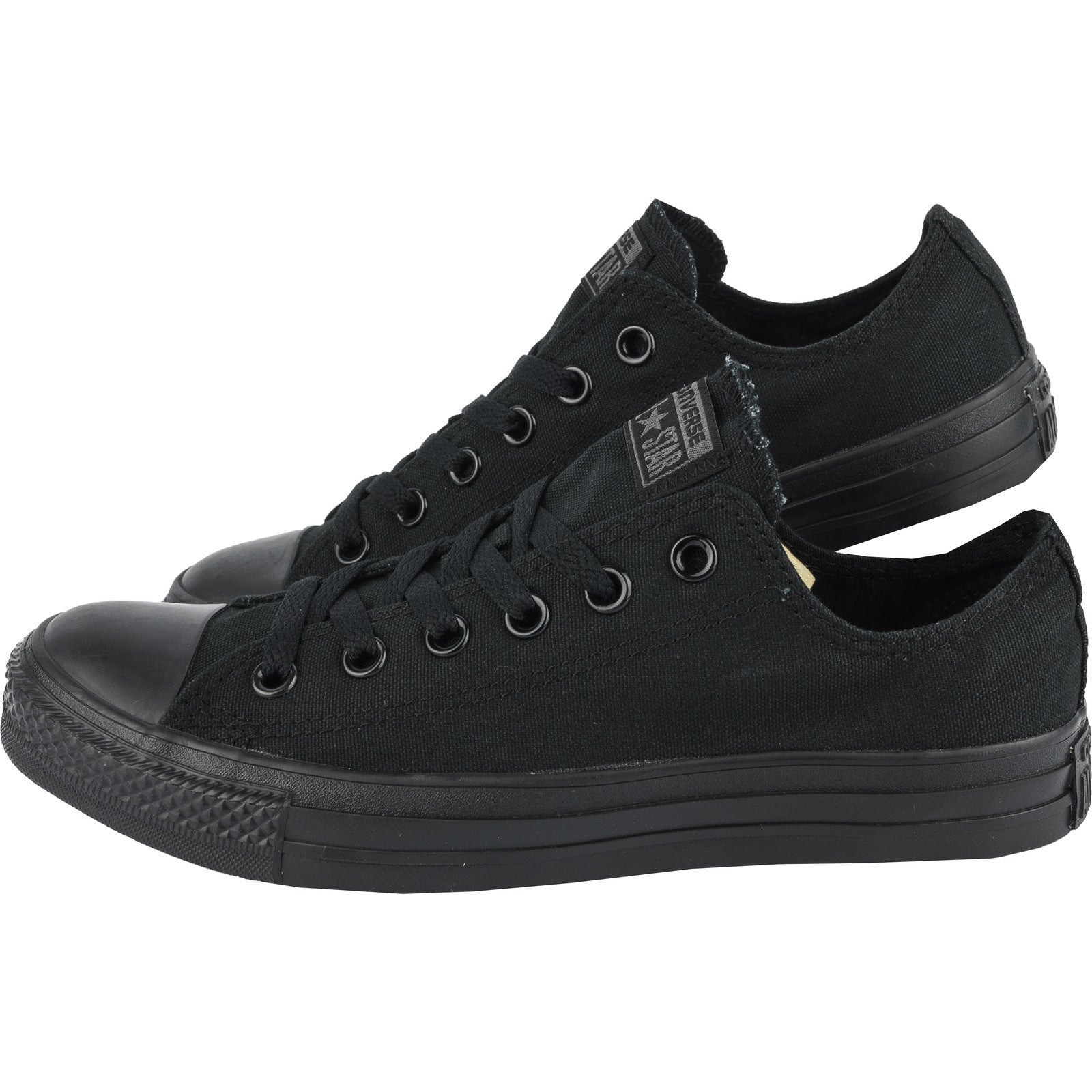 00f714fd0ad7 Converse Classic Chuck Taylor All Star All Black Monochrome Low M5039C  Sneaker Men Women ...