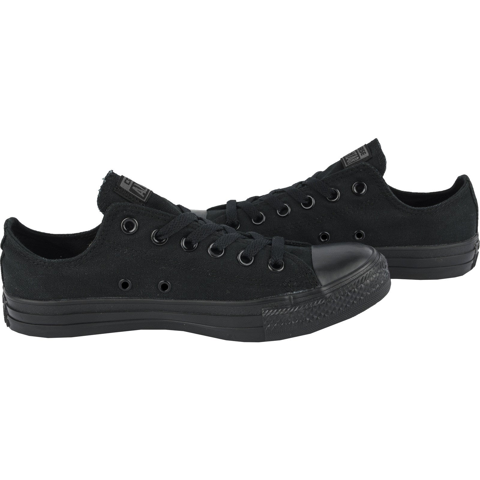 The Converse Chuck Taylor All Star Black Monochrome Low Top