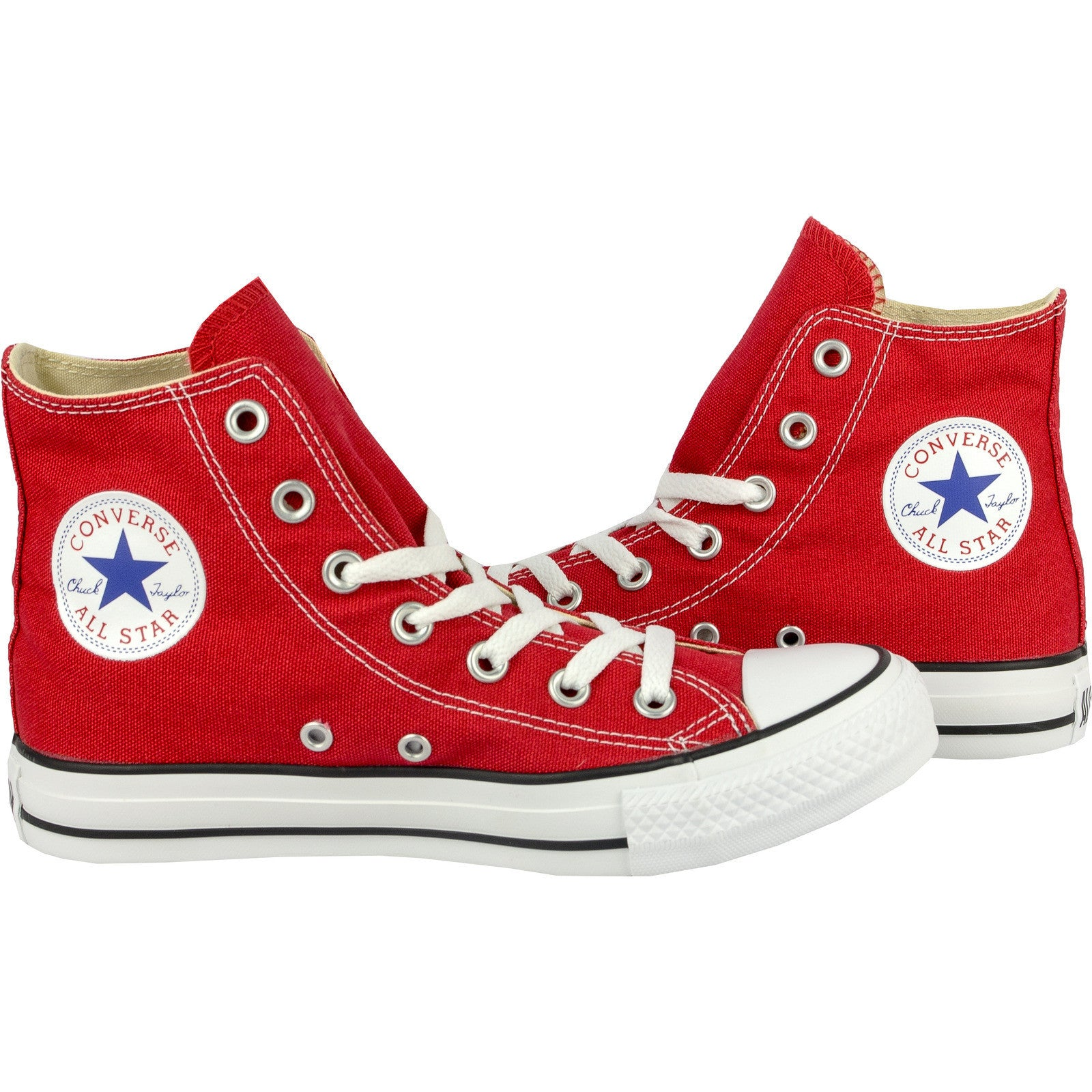 5d03c50496e0 ... Converse Classic Chuck Taylor All Star Red HI High M9621C Trainer  Sneaker NEW ...