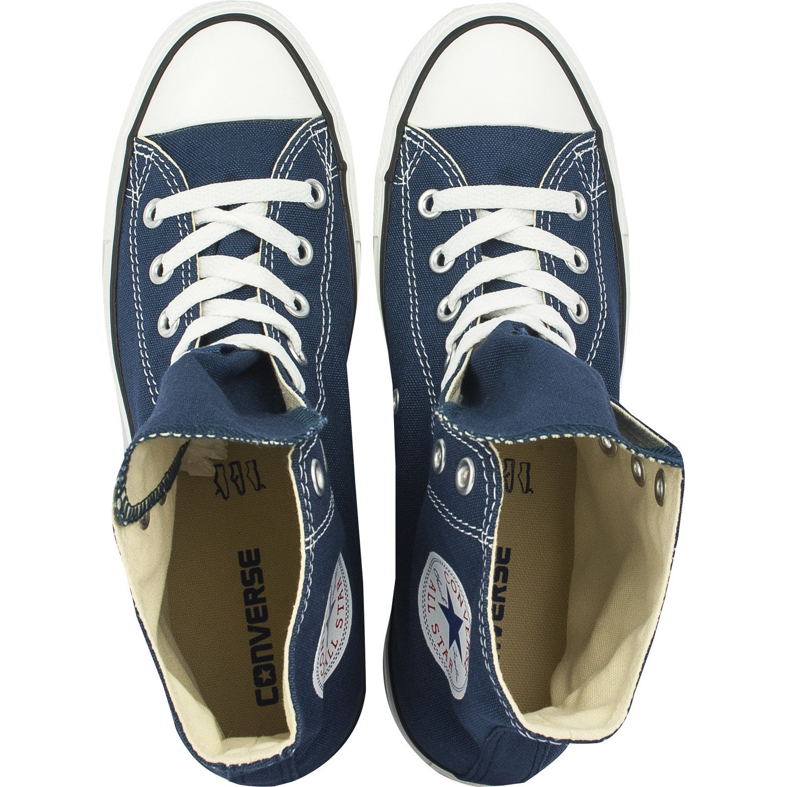 c240978cf702b ... Converse Classic Chuck Taylor All Star Navy Blue HI High M9622C Trainer  Sneaker NEW