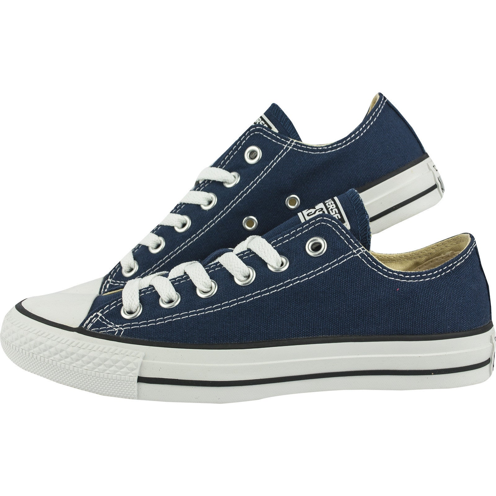 1987dbcbdc7b Converse Classic Chuck Taylor All Star Navy Blue Low Tops M9697C Sneaker  Men Women ...