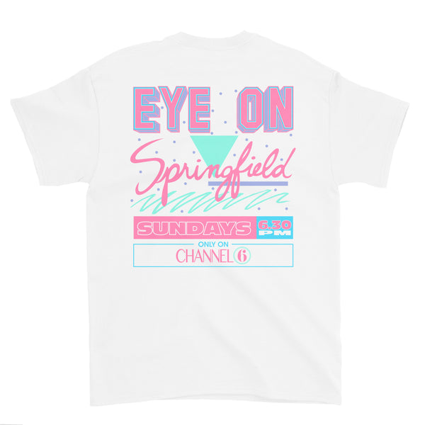 Eye on Springfield T-Shirt (White)