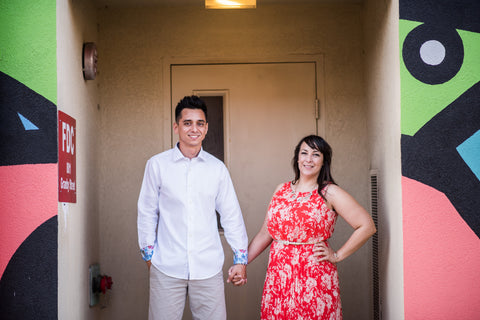 Crystal and Steven, Salazar Lane