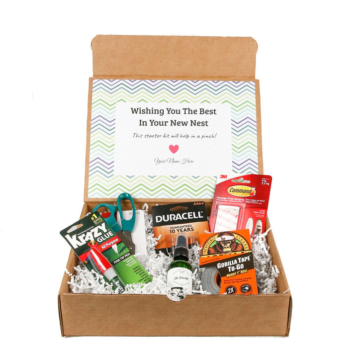 Moving-Housewarming gift box by Salazar Lane