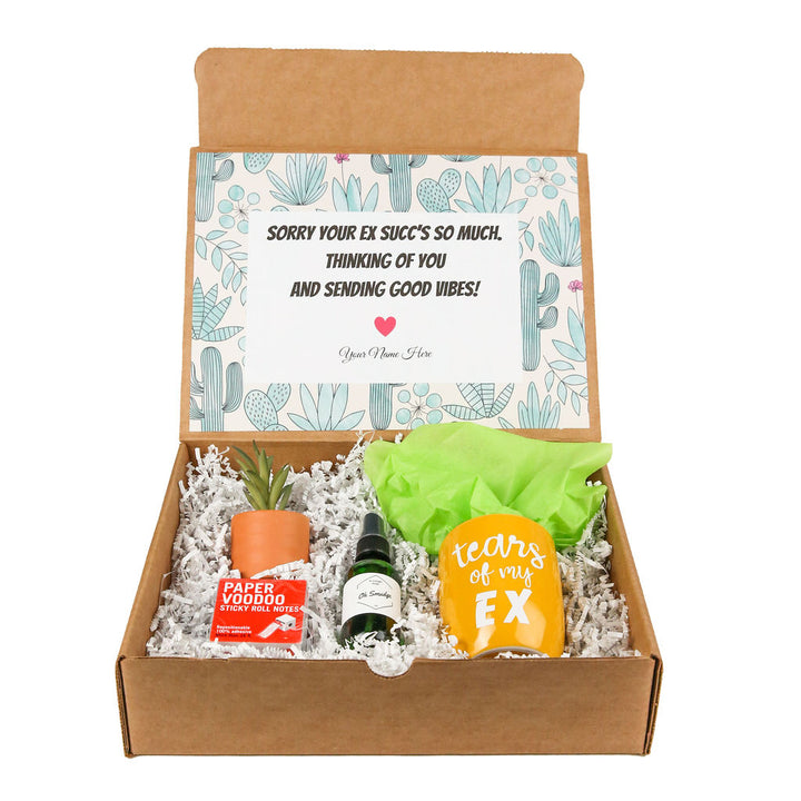 Break-up gift box by Salazar Lane