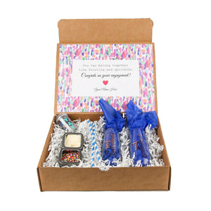 Engagement gift box by Salazar Lane