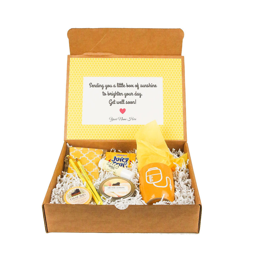 Get well soon gift box by Salazar Lane