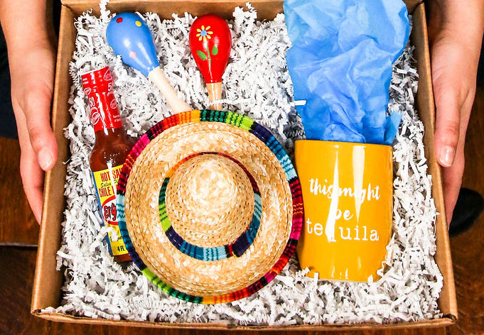 Fiesta gift box by Salazar Lane