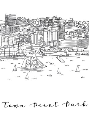 Hampton Roads Coloring Book - Choose Your Own Adventure