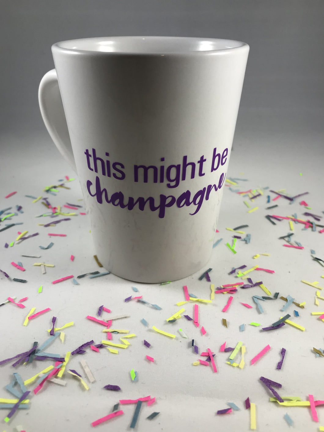 This Might be Champagne Coffee Mug by Salazar Lane