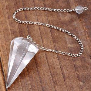 Chakra dowsing pendulum eternal vibrations chakra dowsing pendulum crystal quartz eternal vibrations aloadofball Choice Image