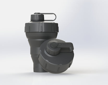 GoPUCC Collapsible Bottle - Matte Black