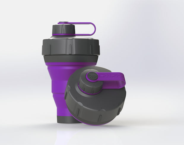 GoPUCC Collapsible Bottle - Purple
