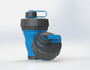 GoPUCC Collapsible Bottle - Blue