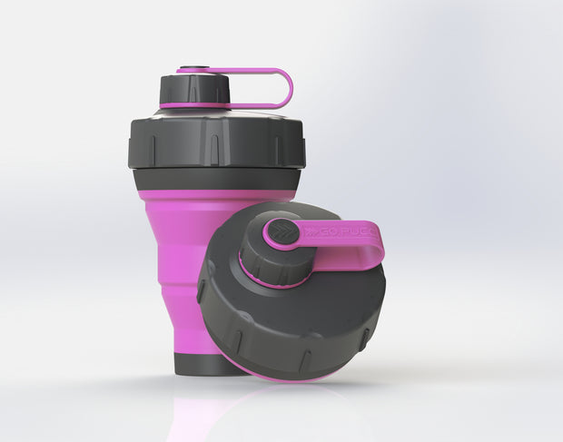 GoPUCC Collapsible Bottle - Pink