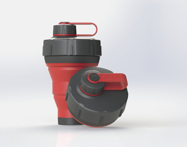 GoPUCC Collapsible Bottle - Red