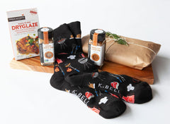 The Four Piece Grillin' & Chillin' Gourmet Gift Set