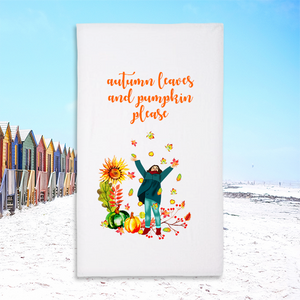 35x60 Plush Beach Towel