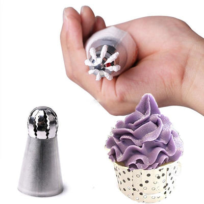 Cupcake Stainless Steel Piping Tool - Purple Cow Apparel