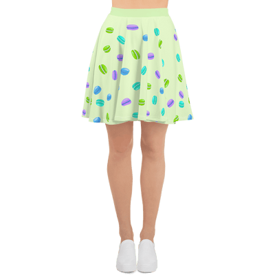 lime 'always macar-on' [skirt] - Purple Cow Apparel