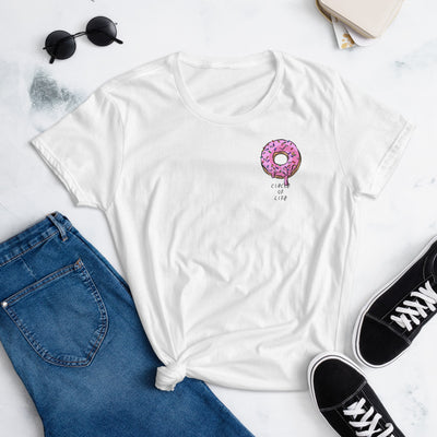 Circle of Life Doughnut Tee - Purple Cow Apparel