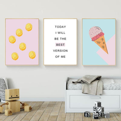 Motivational Wall Art Pack - Purple Cow Apparel