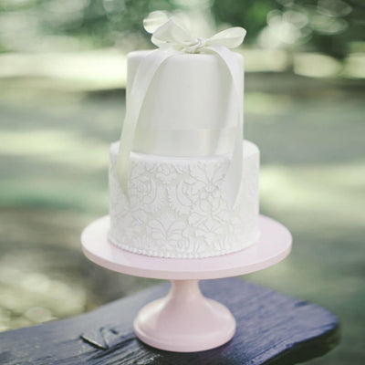Pretty in Pink Cake Stand - Purple Cow Apparel