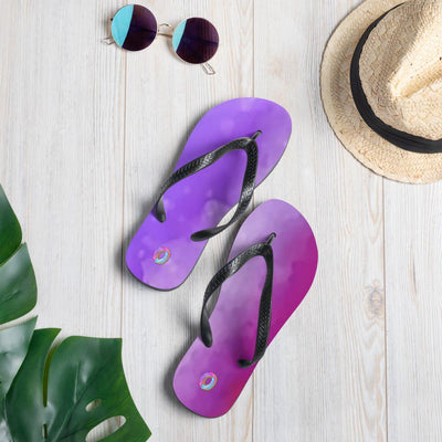 Purple flip-flops! - Purple Cow Apparel