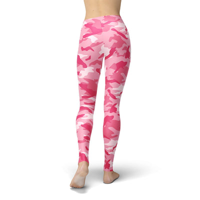 Strawberry Camo Leggings - Purple Cow Apparel