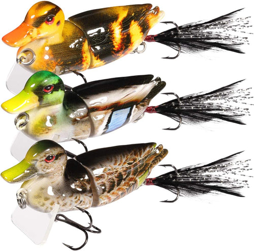 TRUSCEND Fishing Lures for Bass Trout 2~4