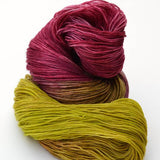 Chartreuse & Plum