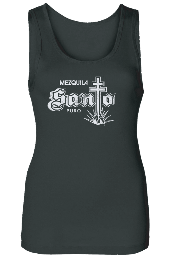 Ladies Black Santo Tank