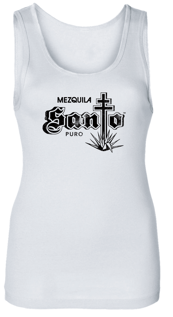 Ladies White Santo Tank