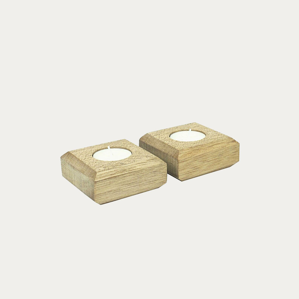 Block Tealight Holders
