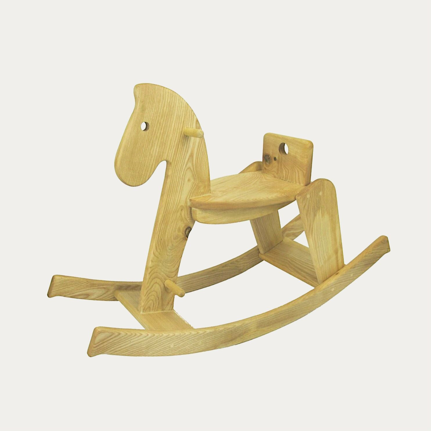 Child S Rocking Horse Natural Wooden Children S Toy Goya Creative