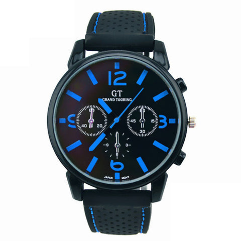 GT WATCH Fashion Stainless Steel Sport Cool Quartz | FREE Shipping