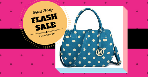 Click to find out more about Black Friday Flash Sale Purses 50% off