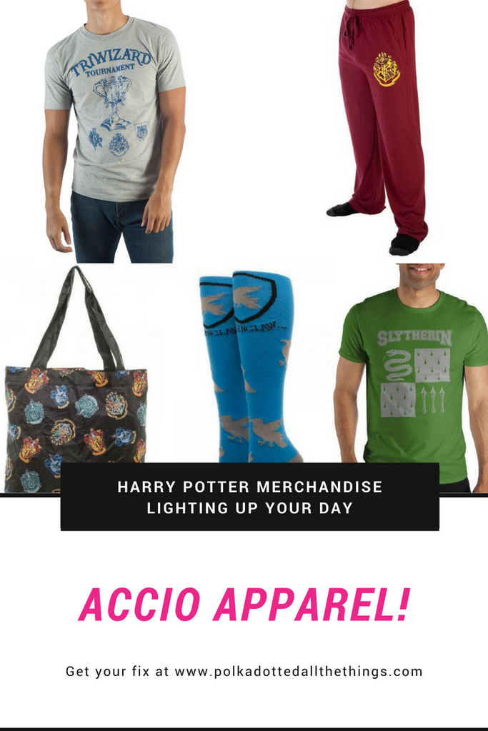 Collection de marchandises Harry Potter à la boutique Polka Dotted All The Things