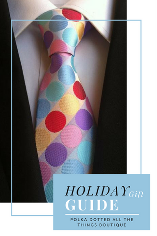 Polka Dotted All The Things Boutique Holiday Gift Guide for the Polka Dot Obsessed