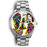 Montre Design en Argent - Angel Effect Shop