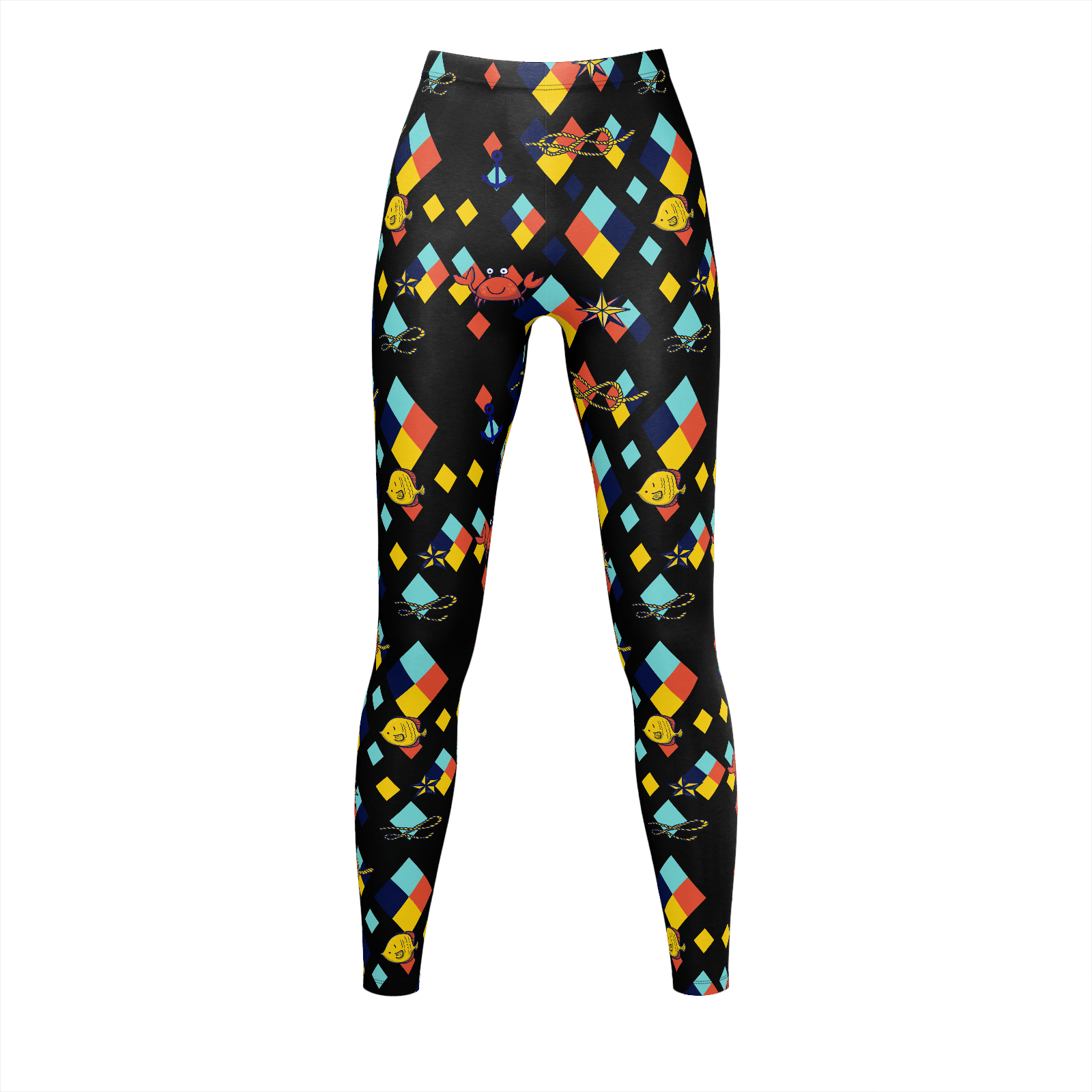 Magnifique Leggings Marin Angel - Angel Effect Shop
