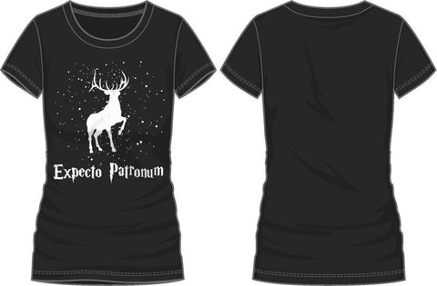 Harry Potter Expecto Patronum Spirit Guardian Deer T-Shirt - Angel Effect Shop