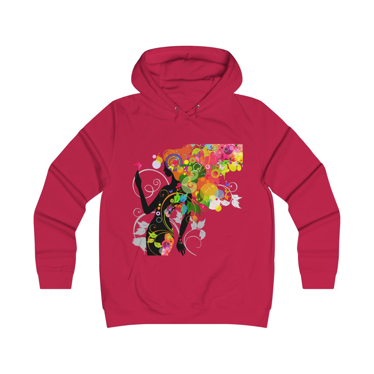 Girlie College Hoodie Angel - Angel Effect Shop