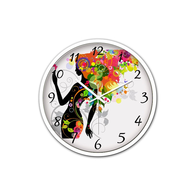 Horloge murale silencieuse - Angel Effect Shop