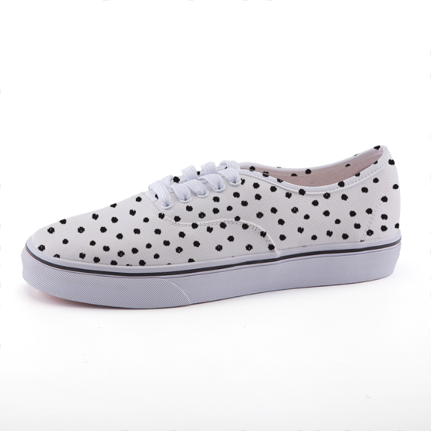 Polka Dot Low-top fashion canvas shoes Shoes - Polka Dotted All The Things Boutique
