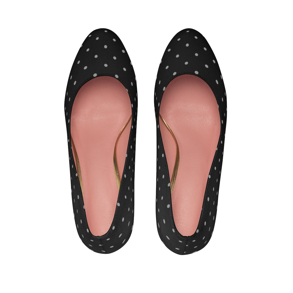 Black Polka Dot High Heels Shoes - Polka Dotted All The Things Boutique